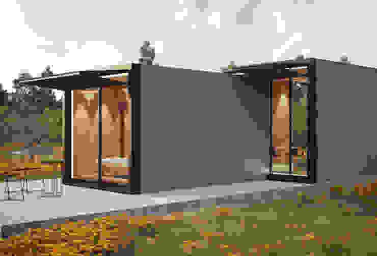Minimalistyczne domy od ASVS Arquitectos Associados Minimalistyczny