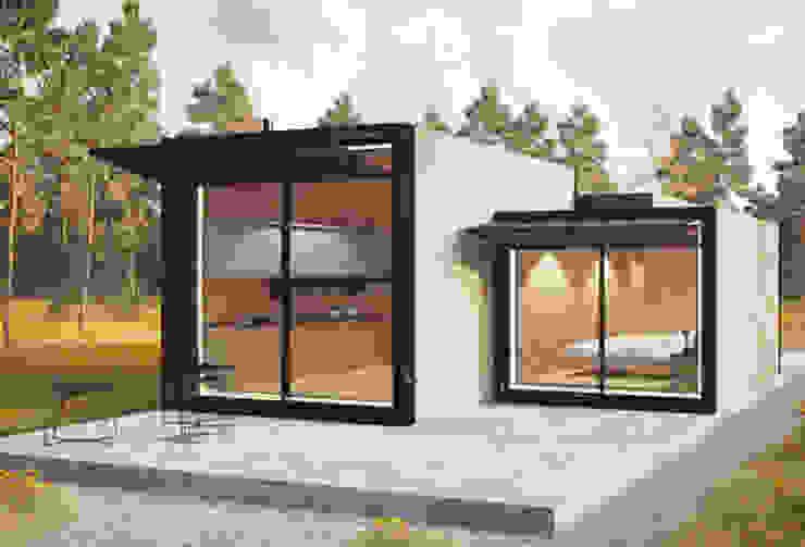 Case in stile minimalista di ASVS Arquitectos Associados Minimalista