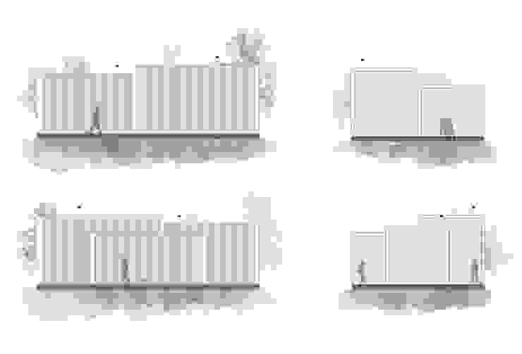 minimalist  by Vítor Leal Barros Architecture, Minimalist