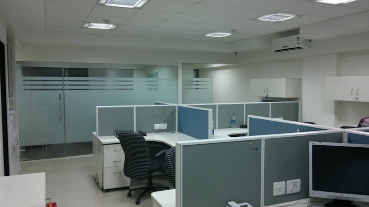 Citec Engineering (I) Pvt Ltd by Awadh Interiors Modern