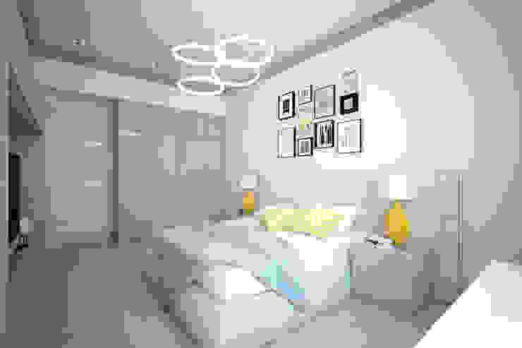 Летний берег Спальня в стиле минимализм от First Class Interior Минимализм