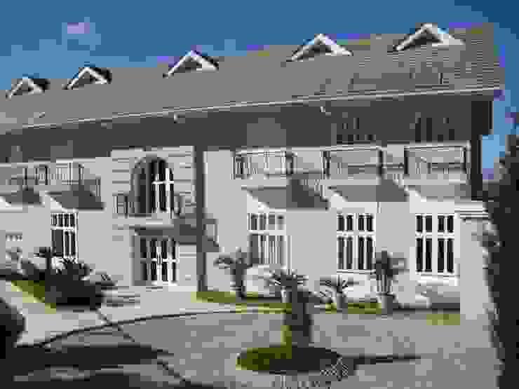 Casas de estilo mediterráneo de GATE Arquitetos Associados Mediterráneo