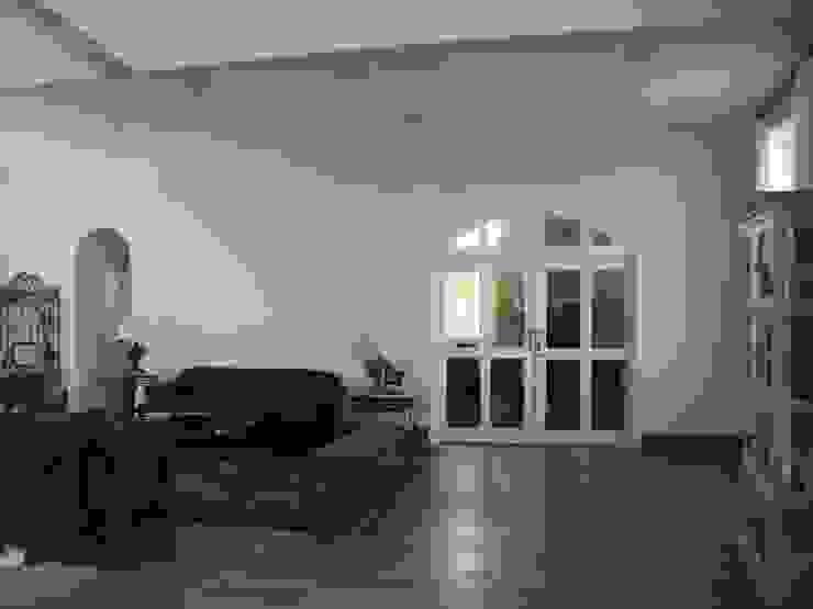 GATE Arquitetos Associados Ruang Keluarga Gaya Mediteran