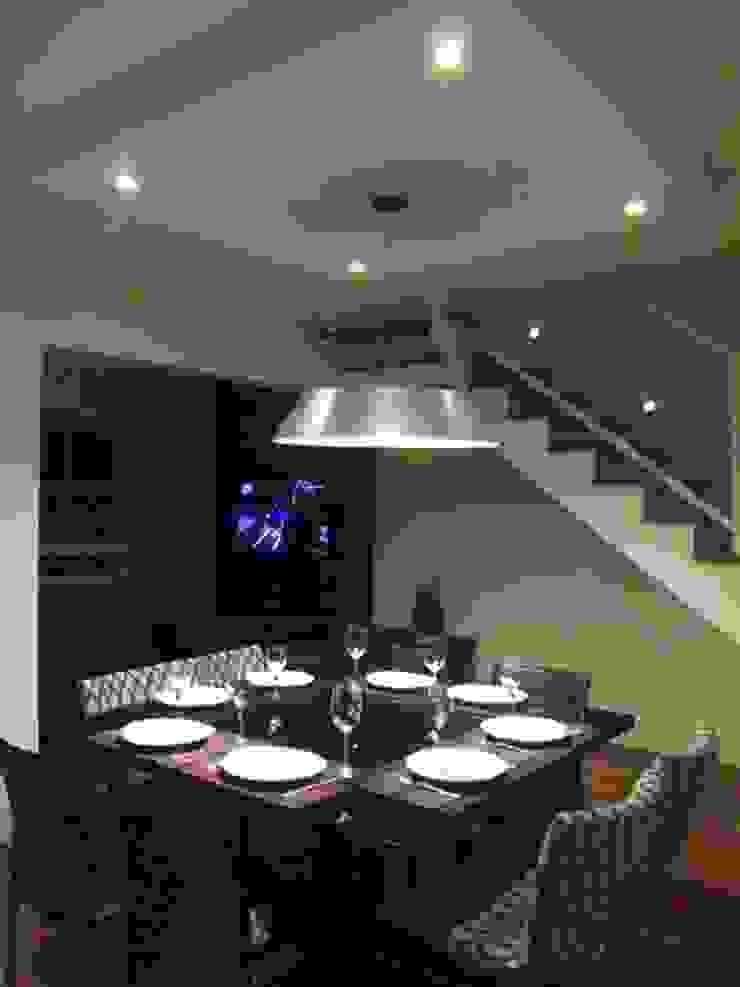 Loft de 104,00m2 Salas de jantar modernas por Daniele Rossi Lopes Arquitetura e Design Moderno