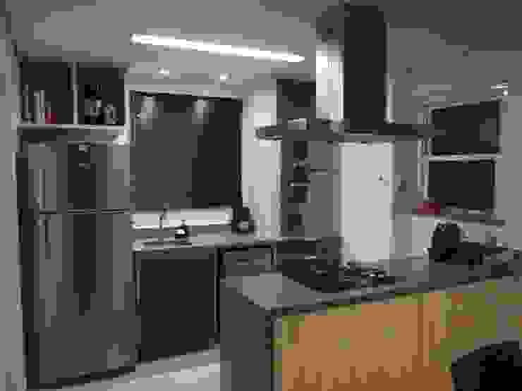 Loft de 104,00m2 Cozinhas modernas por Daniele Rossi Lopes Arquitetura e Design Moderno