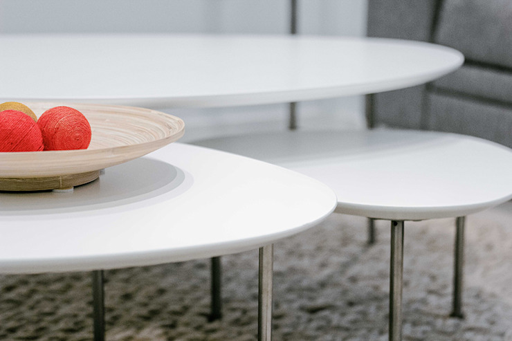 Chiralt Arquitectos Living roomSide tables & trays