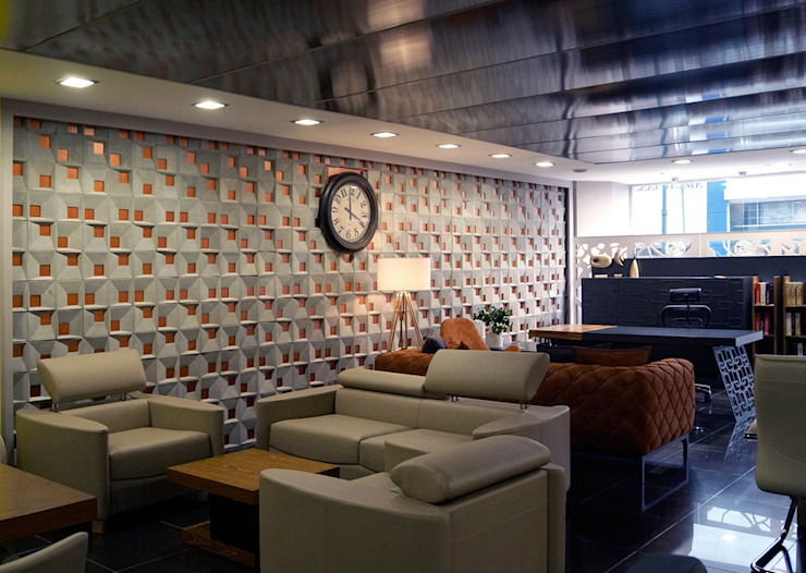 Office Club Etiler Modern Bar & Kulüpler TONK Project Modern