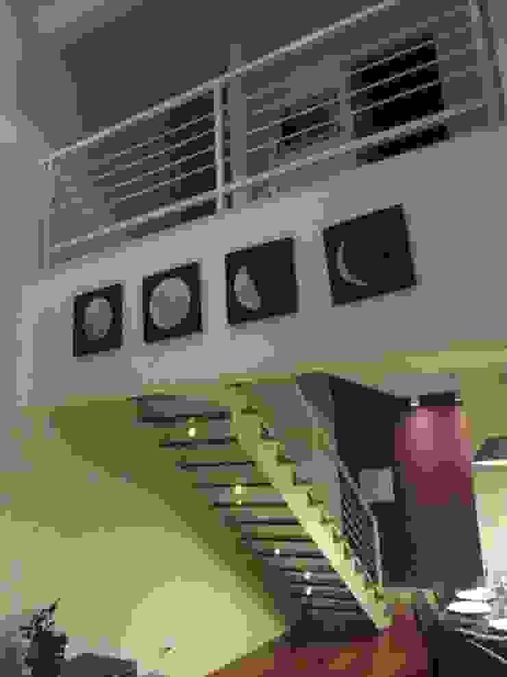 Loft de 104,00m2 Salas de estar modernas por Daniele Rossi Lopes Arquitetura e Design Moderno