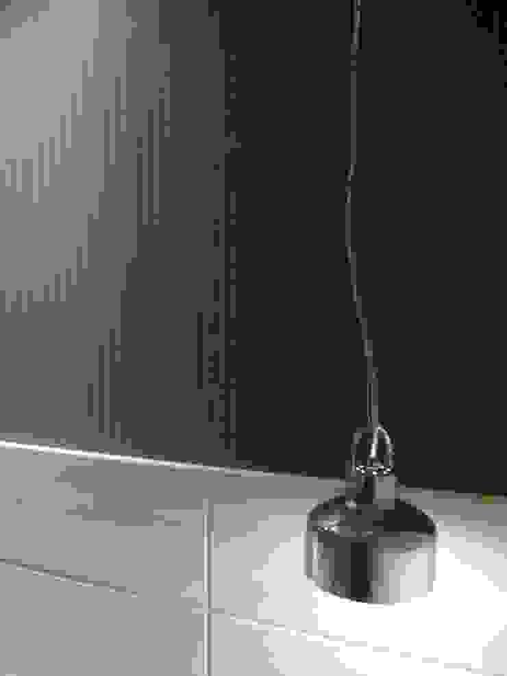 Loft de 104,00m2 Quartos modernos por Daniele Rossi Lopes Arquitetura e Design Moderno