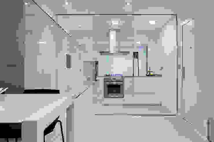 Casa Manises - Cocina Cocinas de estilo minimalista de Chiralt Arquitectos Minimalista