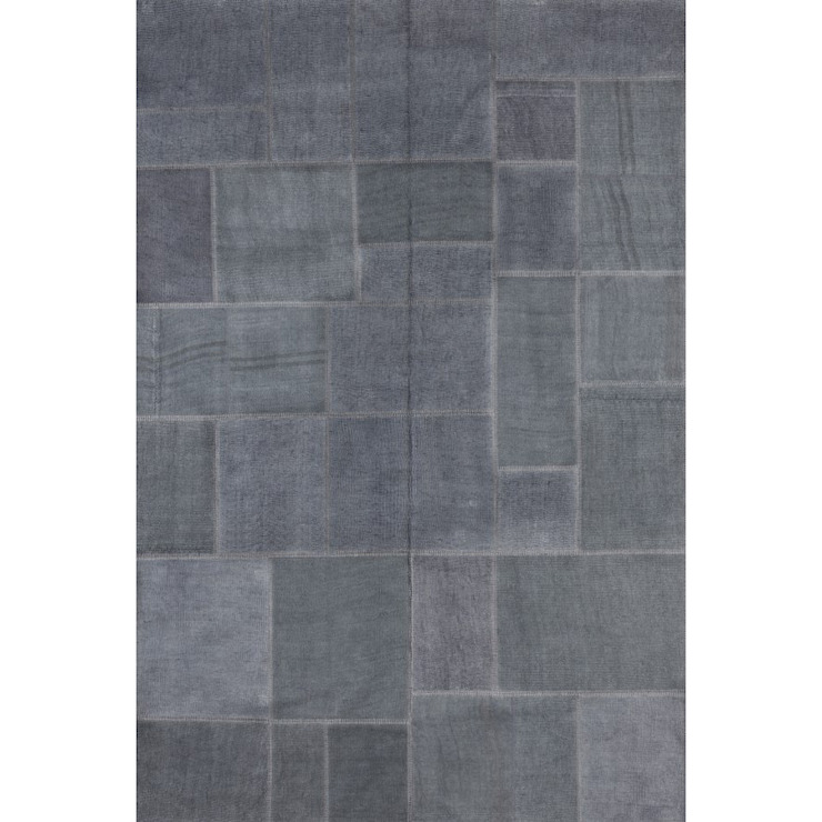 'Milano' Modern dark grey luxury hand tufted rug by Sitap od My Italian Living Nowoczesny