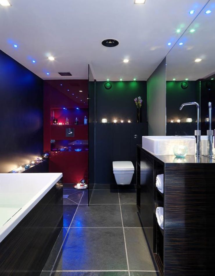 Bathroom design Industrial style bathroom by Quirke McNamara Industrial