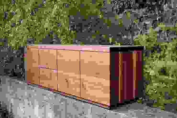 Atelier Sinnesmagnet Living roomCupboards & sideboards Solid Wood