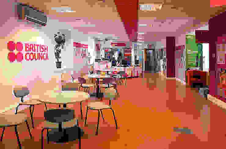 British Council в Киеве Офисные помещения в скандинавском стиле от Студия дизайна Саши Федоренко Скандинавский