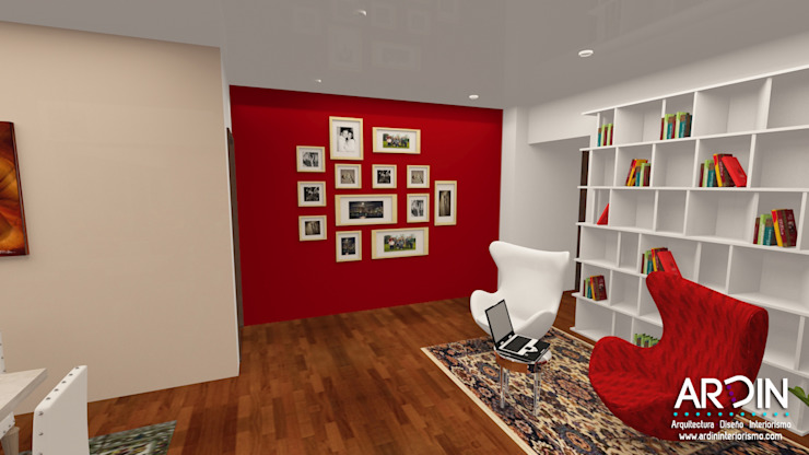 CUMBRES Salones modernos de ARDIN INTERIORISMO Moderno