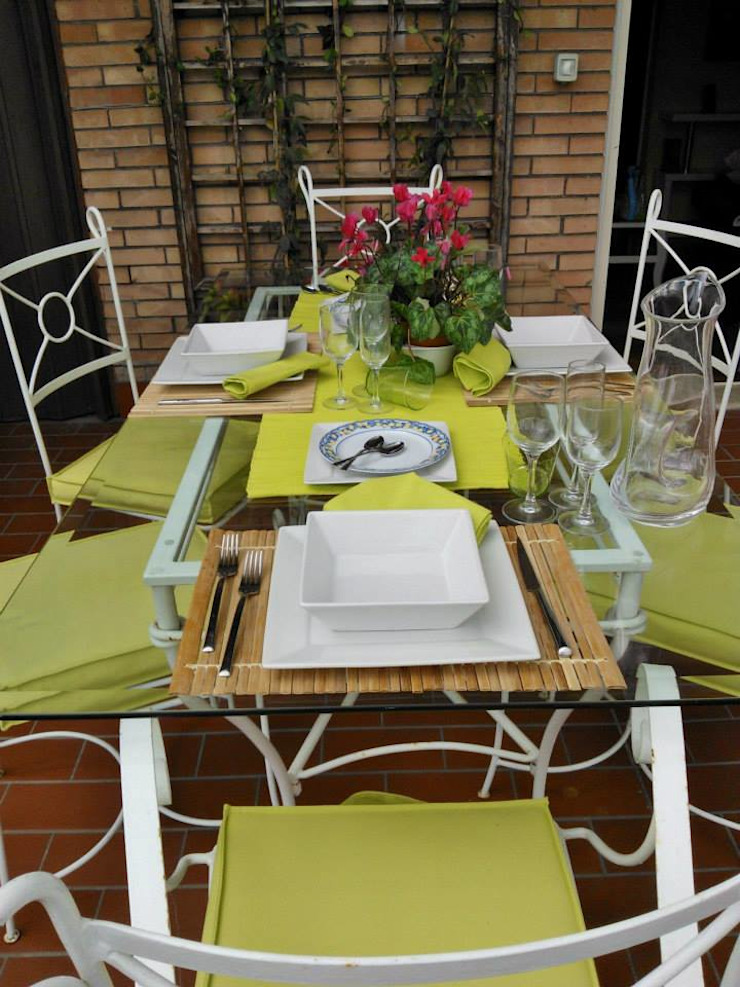 Loredana Vingelli Home Decor Patios & Decks Ceramic Green