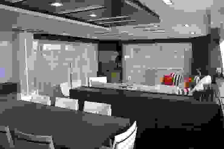 Silvia Costa | Arquitectura de Interiores ห้องทานข้าวเก้าอี้และม้านั่ง