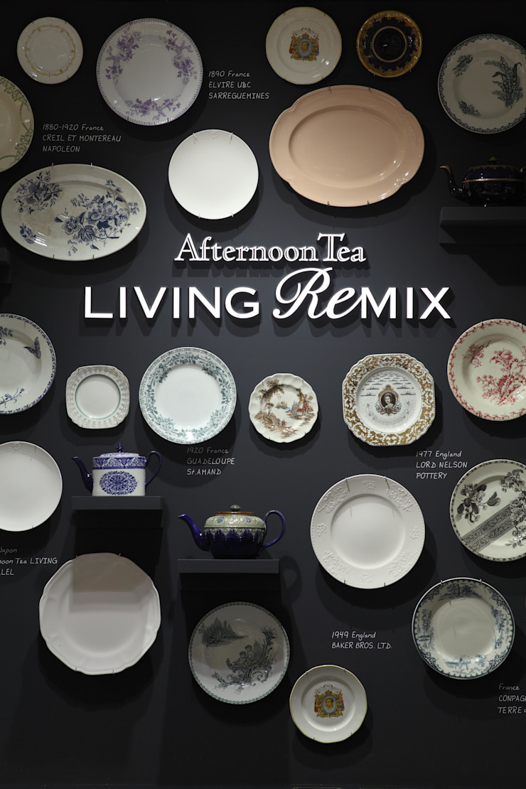 Afternoon Tea LIVING ReMIX オリジナルな商業空間 の HEADSTARTS オリジナル