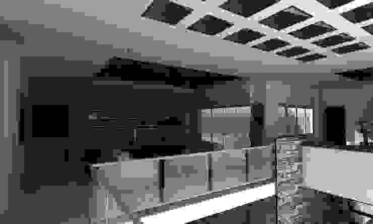 PROYECTO RUBIO Salones modernos de OLLIN ARQUITECTURA Moderno