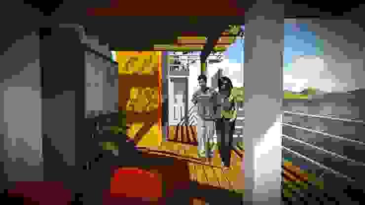 Disfrute de la Naturaleza John J. Rivera Arquitecto Casas de estilo minimalista