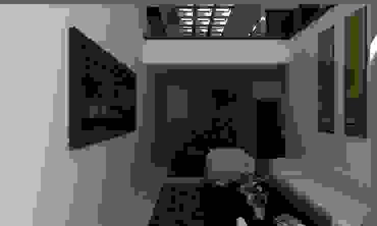 SALA COMEDOR Salones modernos de OLLIN ARQUITECTURA Moderno