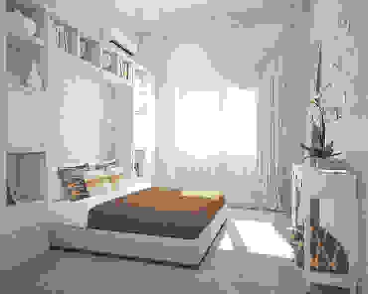 Спальня. Традиции и современность Спальня в эклектичном стиле от «Студия 3.14» Эклектичный