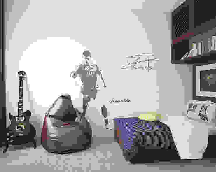 Комната мальчика. Традиции и современность Детские комната в эклектичном стиле от «Студия 3.14» Эклектичный