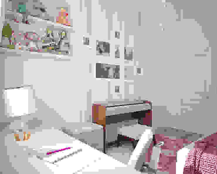 Комната девочки. Традиции и современность Детские комната в эклектичном стиле от «Студия 3.14» Эклектичный