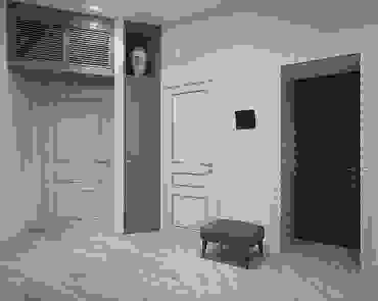 Прихожая. Традиции и современность Коридор, прихожая и лестница в эклектичном стиле от «Студия 3.14» Эклектичный