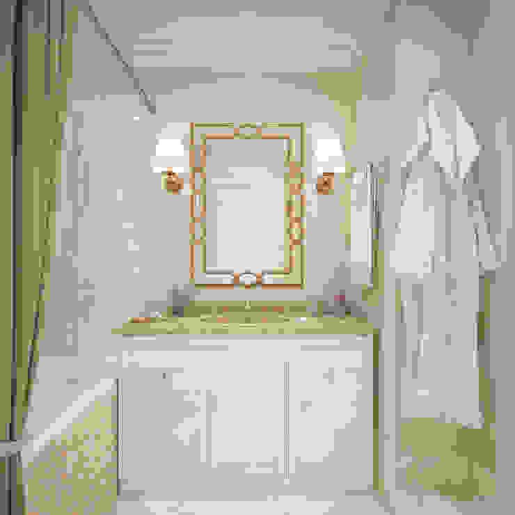 Два этажа уюта Ванная комната в эклектичном стиле от «Студия 3.14» Эклектичный