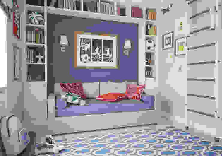 Комната мальчика. Два этажа уюта Детские комната в эклектичном стиле от «Студия 3.14» Эклектичный