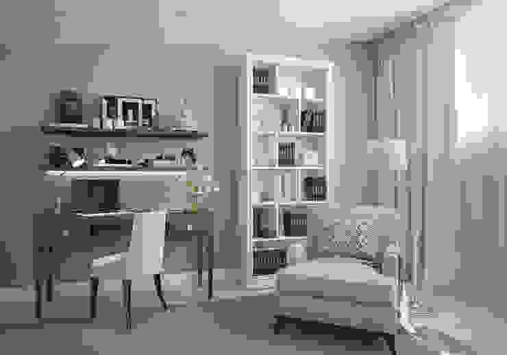 Спальня. Два этажа уюта Спальня в эклектичном стиле от «Студия 3.14» Эклектичный