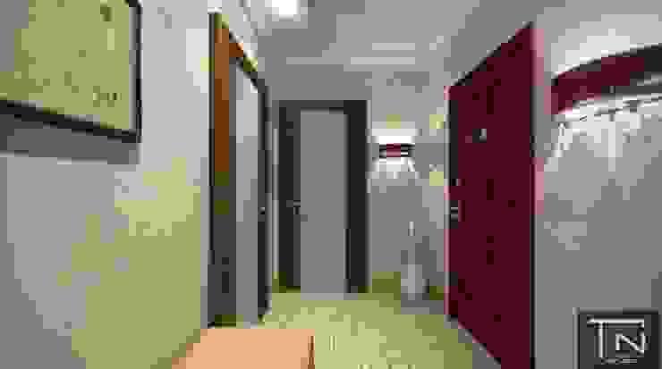 Дизайн интерьера квартиры - студии Коридор, прихожая и лестница в эклектичном стиле от Студия дизайна и проектирования ТОН Эклектичный