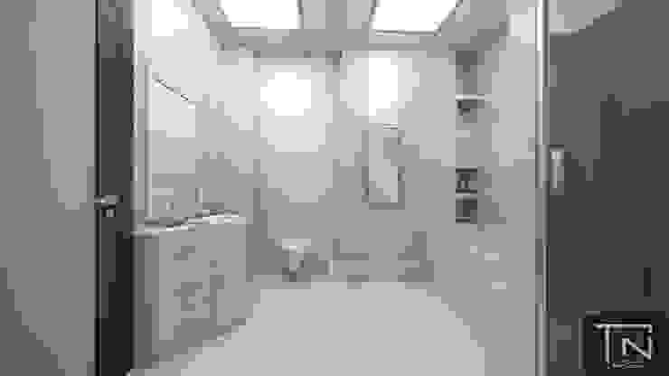 Интерьер ванной комнаты Ванная комната в эклектичном стиле от Студия дизайна и проектирования ТОН Эклектичный