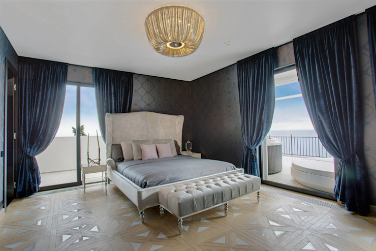 Moderne slaapkamers van Vesta Vision Modern