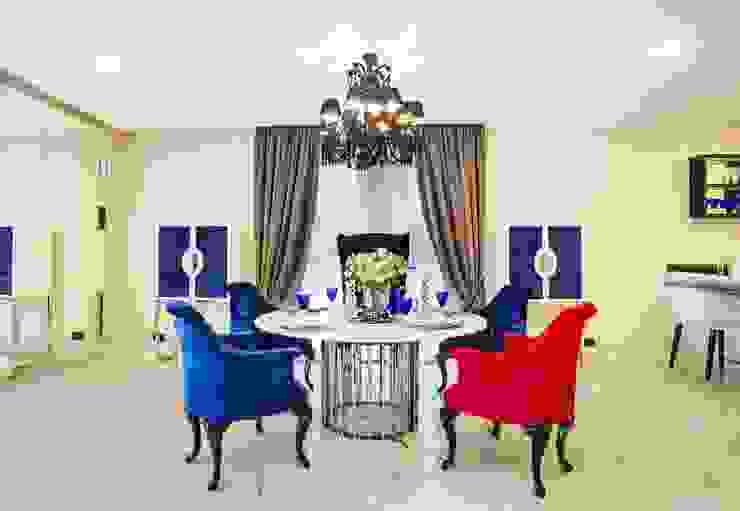 Monte Carlo Penthouse Salle à manger moderne par Vesta Vision Moderne