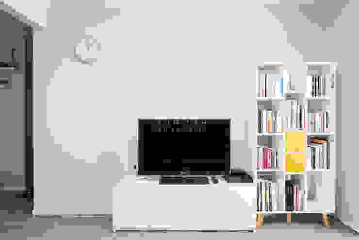 영통 매탄동 동남아파트 22평인테리어 인더스트리얼 거실 by JMdesign 인더스트리얼