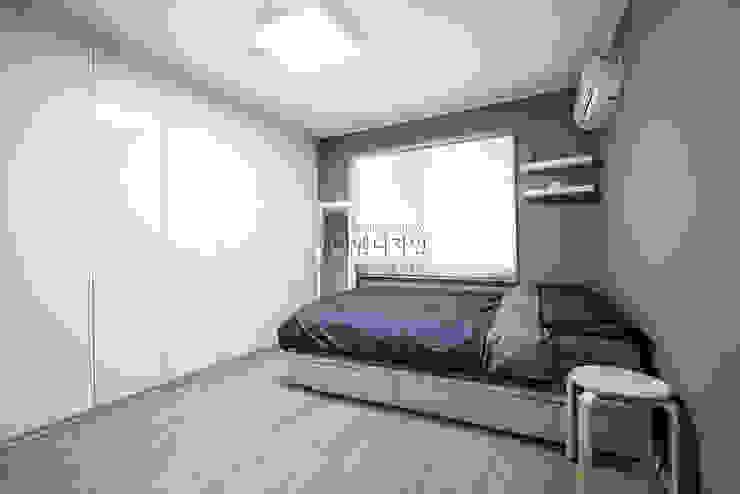 Endüstriyel Yatak Odası JMdesign Endüstriyel