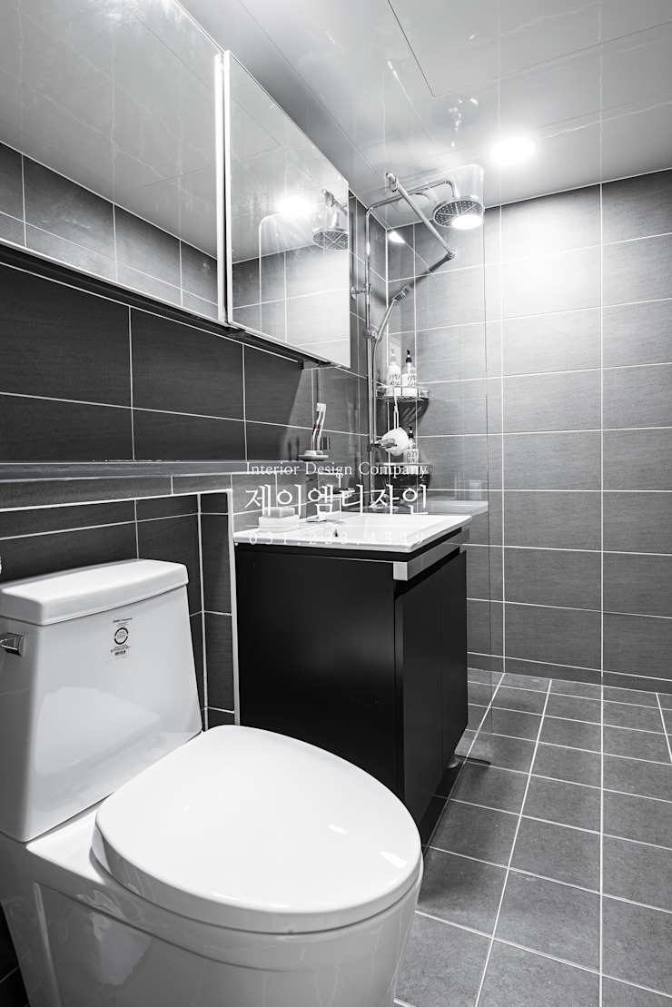 영통 매탄동 동남아파트 22평인테리어 인더스트리얼 욕실 by JMdesign 인더스트리얼