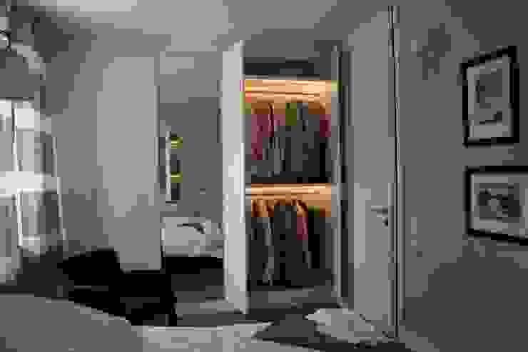 Dormitorios de estilo clásico de Sic! Zuzanna Dziurawiec Clásico Tablero DM