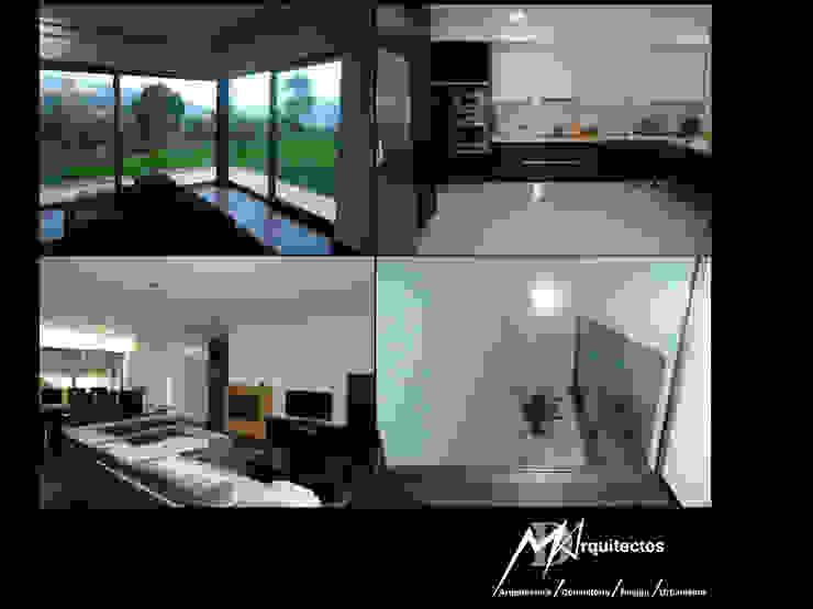 MORADIA VILA VERDE Salas de estar modernas por MDArquitectos Moderno