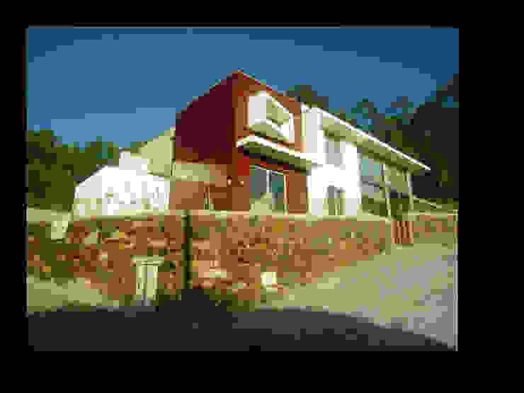 MORADIA CAMPO DE GOLF Casas modernas por MDArquitectos Moderno
