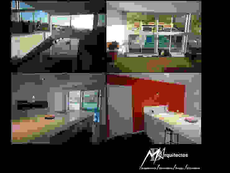 MORADIA CAMPO DE GOLF Cozinhas modernas por MDArquitectos Moderno