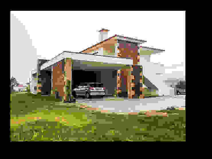 MORADIA BRANDARA Casas modernas por MDArquitectos Moderno