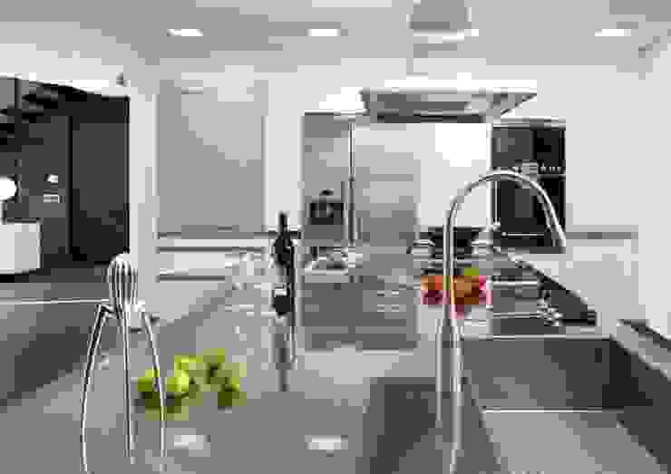 HOUSE-TEES Cocinas de estilo moderno de jordivayreda projectteam Moderno