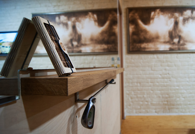 Modern Living Room by дизайн студия 'Понимание' Modern