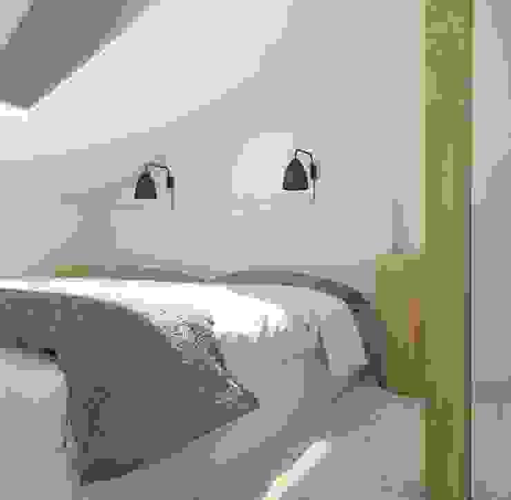 Dormitorios modernos: Ideas, imágenes y decoración de Sic! Zuzanna Dziurawiec Moderno Madera Acabado en madera