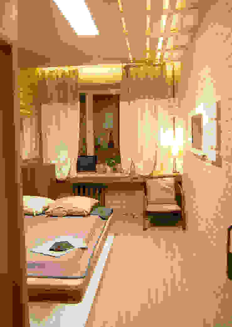 Modern Bedroom by дизайн студия 'Понимание' Modern