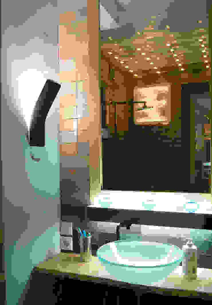 Modern Bathroom by дизайн студия 'Понимание' Modern