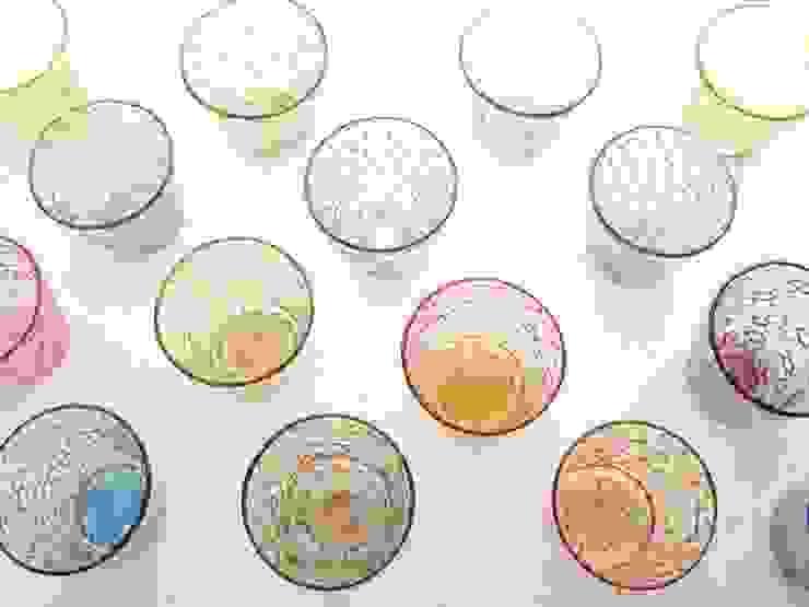 イロアミグラス: 吉村桂子が手掛けた現代のです。,モダン
